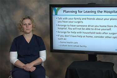 """Thumbnail image for """"Making Plans for Leaving the Hospital and Your Follow-up Care"""""""