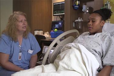 "Thumbnail image for ""Giving Birth: Managing Pain - Coping With Labor (Vaginal Birth)"""