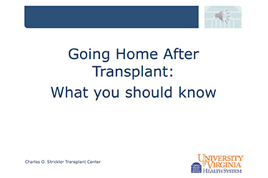 "Thumbnail image for ""Going Home After Transplant: Part 1"""