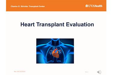 "Thumbnail image for ""Heart Pre-Transplant Education Presentation"""