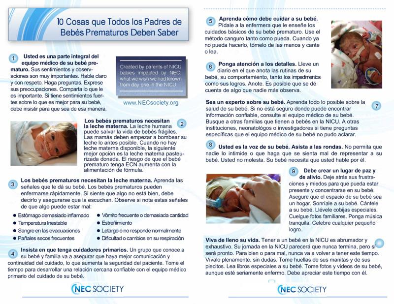 """Poster image for """"10 Cosas que Todos los Padres de Bebés Prematuros Deben Saber"""""""