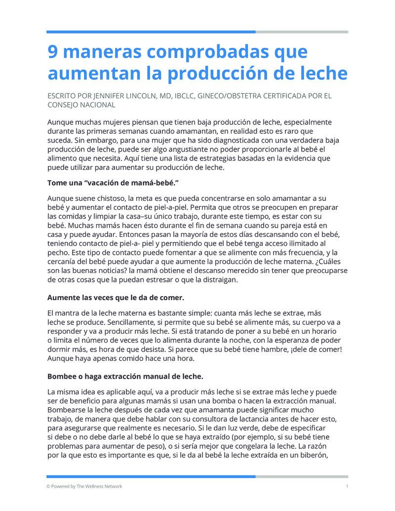 """Poster image for """"9 maneras comprobadas que aumentan la producción de leche"""""""