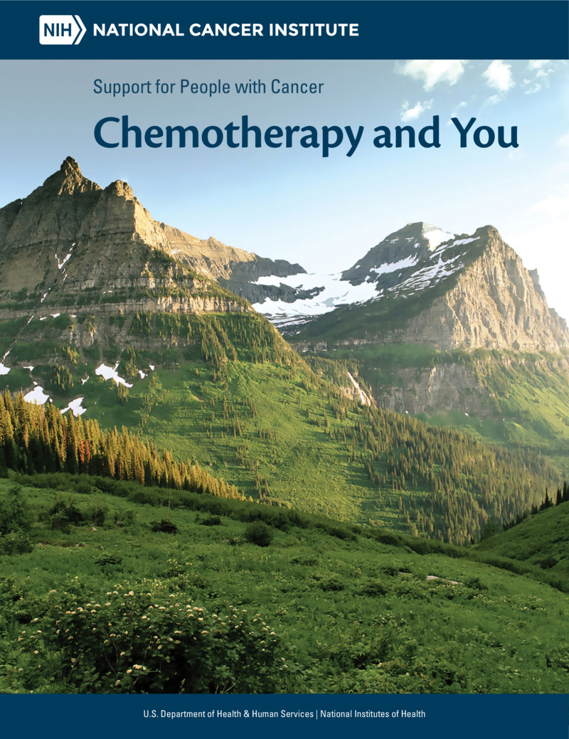 """Poster image for """"Chemotherapy and You: Support for People With Cancer"""""""