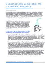 """Thumbnail image for """"6 consejos sobre cómo hablar con tus hijos del coronavirus"""""""