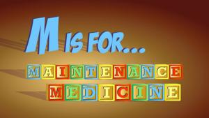 "Thumbnail image for ""Maintenance Medicines Explained"""