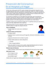 """Thumbnail image for """"Prevención del Coronavirus: En el Hospital y el Hogar"""""""