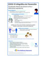 """Thumbnail image for """"COVID-19 Infográfica de Prevención: Encabezado: Manera de prevenir el flu e infecciones respiratorias"""""""