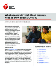"""Thumbnail image for """"What people with high blood pressure need to know about COVID-19"""""""