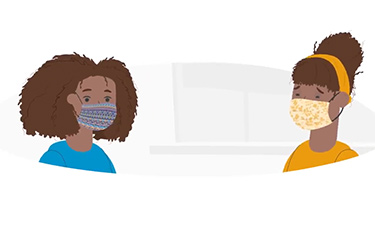 "Thumbnail image for ""How to Wear a Fabric Mask Safely"""