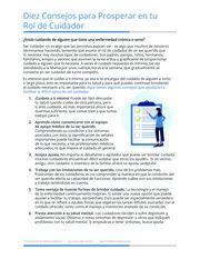 """Thumbnail image for """"Diez Consejos para Prosperar en tu Rol de Cuidador"""""""
