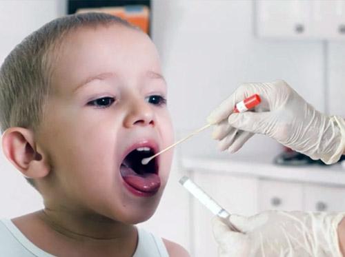 """Thumbnail image for """"Strep Throat Test"""""""